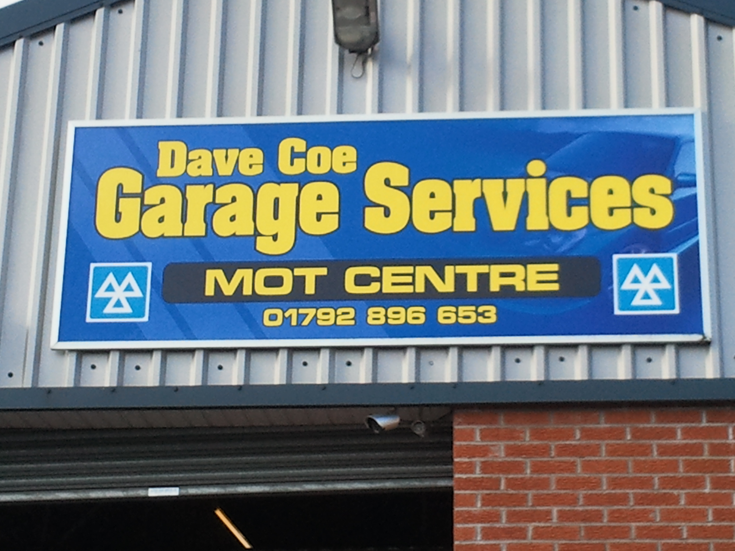 Garage Service Mots : Dave coe garage services call now for a quote